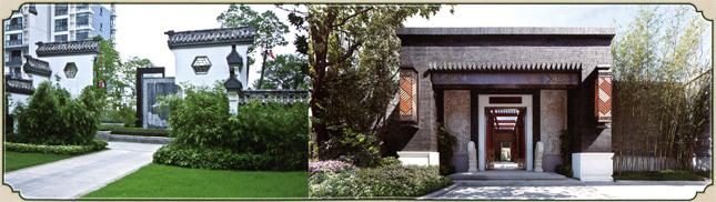 中式园林以再现自然山水为设计基本原则,所以活体水景是必图片
